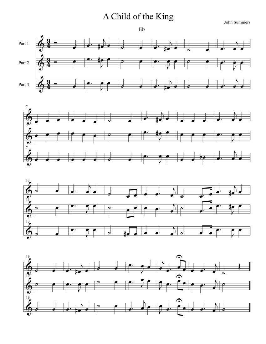 Hymns for Eb Instruments