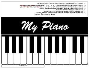 My Piano--Practice Keyboard