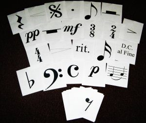 Flash Cards--Music Notation